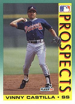 1992 Fleer Vinny Castilla Rookie Card