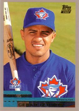 2000 Topps Traded Cesar Izturis Rookie Card