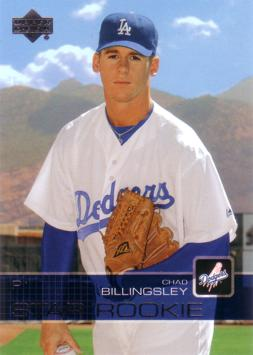 2003 Upper Deck Chad Billingsley Rookie Card
