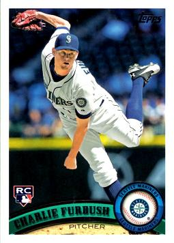 2011 Topps Update Charlie Furbush Rookie Card
