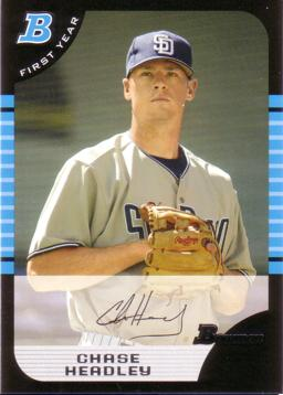 Chase Headley Rookie Card