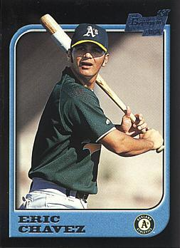 1997 Bowman Eric Chavez Rookie Card
