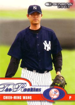 Chien Ming Wang Rookie Card