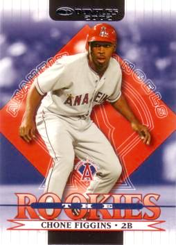 2002 Donruss RC's Chone Figgins Rookie Card