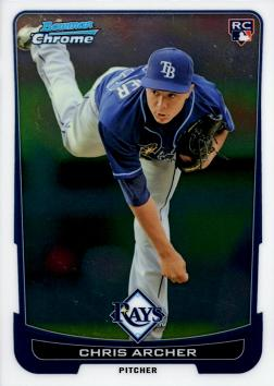 Chris Archer Rookie Card