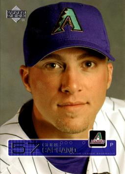 2003 Upper Deck Chris Capuano Rookie Card