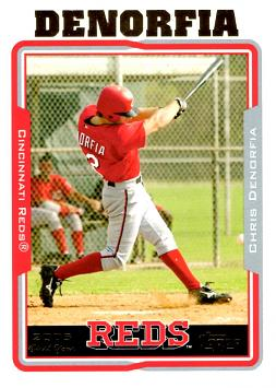 2005 Topps Chris Denorfia Rookie Card
