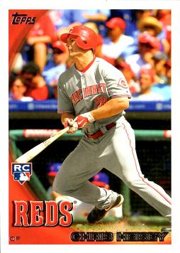 Chris Heisey Rookie Card