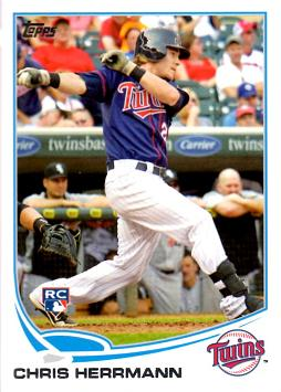 2013 Topps Baseball Chris Herrmann Rookie Card