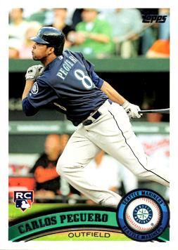 Chris Peguero Rookie Card