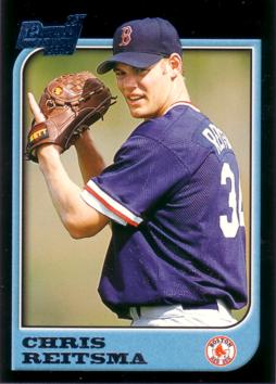 1997 Bowman Chris Reitsma Rookie Card