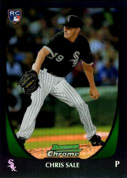 Chris Sale Bowman Chrome Refractor Rookie Card