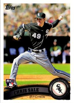 2011 Topps Chris Sale Rookie Card