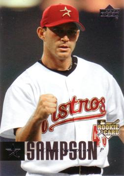 2006 Upper Deck Chris Sampson Rookie Card