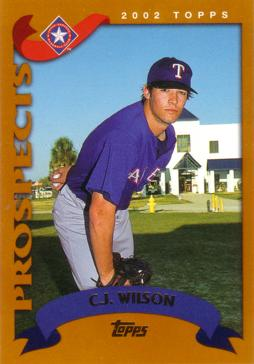 2002 Topps Traded C.J. Wilson Rookie Card