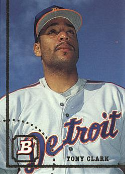 1994 Bowman Tony Clark rookie card
