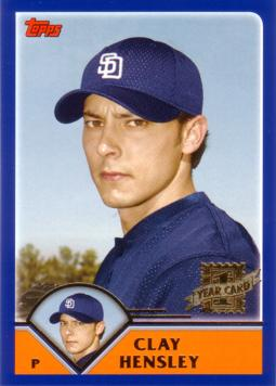 Clay Hensley Rookie Card