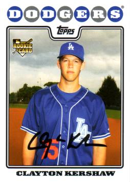 Clayton Kershaw Rookie Card