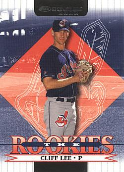 2002 Donruss the Rookies Cliff Lee Rookie Card