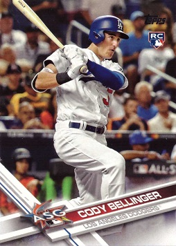 2017 Topps Update Baseball #US38 Cody Bellinger Rookie Card
