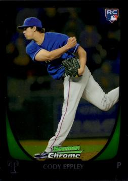 2011 Bowman Chrome Cody Eppley Rookie Card
