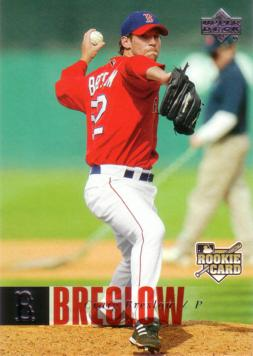 2006 Upper Deck Craig Breslow Rookie Card