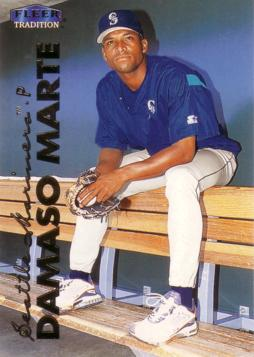 1999 Fleer Update Damaso Marte Rookie Card