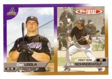 2005 Topps Total Dan Uggla Rookie Card