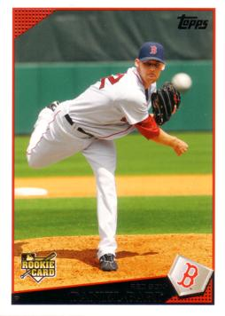 2009 Topps Update Daniel Bard Rookie Card