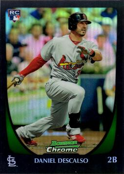 Daniel Descalso Bowman Chrome Refractor Rookie Card