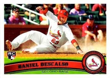Daniel Descalso Rookie Card
