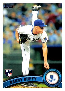 Danny Duffy Rookie Card