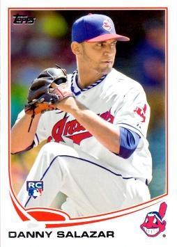 2013 Topps Update Baseball Danny Salazar Rookie Card