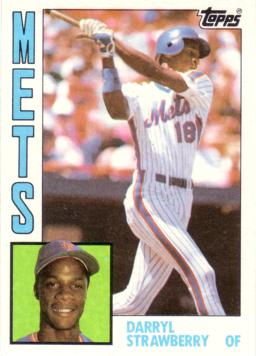 Darryl Strawberry Rookie Card