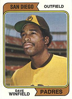 Dave Winfield Rookie Card