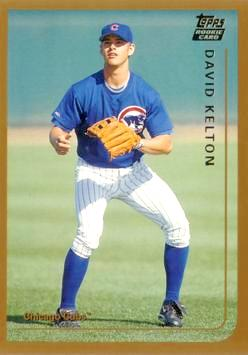 1999 Topps Traded David Kelton Rookie Card