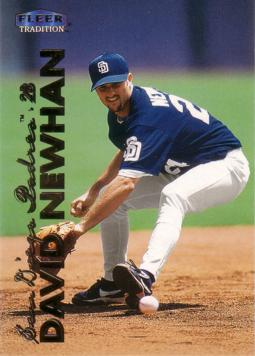 1999 Fleer Update David Newhan Rookie Card