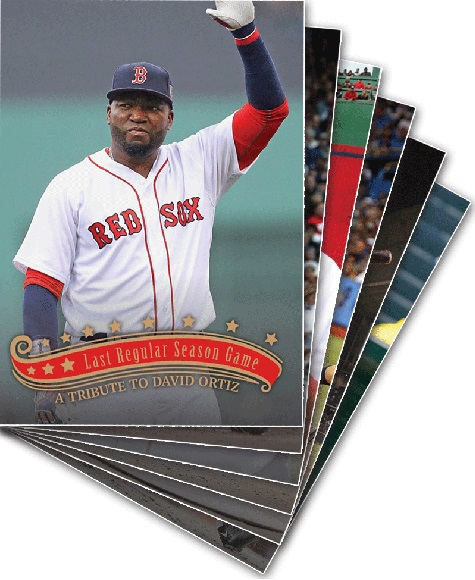 David Ortiz Topps Throwback Thursday Baseball Card Set