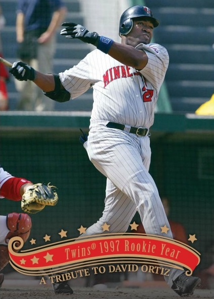 David Ortiz - 1997 Rookie Year with the Twins