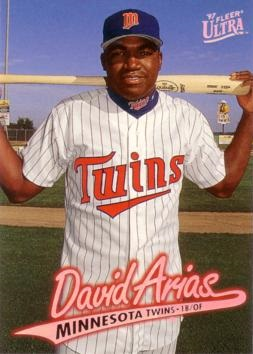 David Ortiz Fleer Ultra Rookie Card