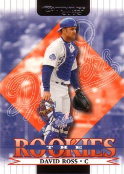 David Ross Rookie Card