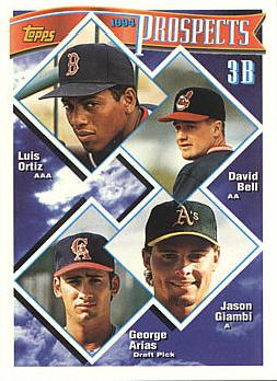 1994 Topps David Bell Rookie Card