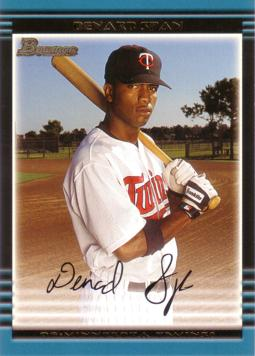 2002 Bowman Draft Denard Span Rookie Card