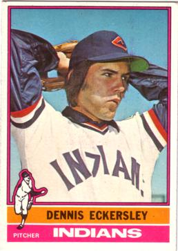 Dennis Eckersley Rookie Card