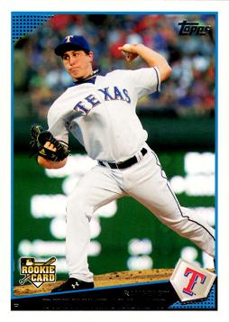 2009 Topps Update Derek Holland Rookie Card