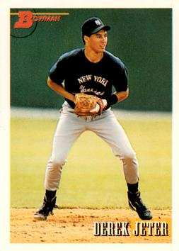 Derek Jeter Bowman Rookie Card
