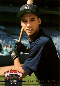Derek Jeter Stadium Club Murphy Rookie Card