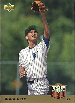 Derek Jeter Upper Deck Rookie Card