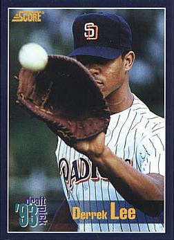 1994 Score Derrek Lee Rookie Card