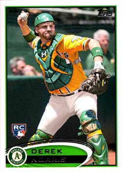 2012 Topps Update Derek Norris Rookie Card